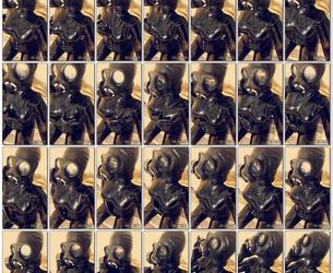 Unknown Latex Selfie Girl (2).mp4