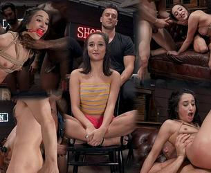 [BoundGangBangs.com / Kink.com] Isabella Nice - Gang Bang Pawn Shop: Isabella Nice Pays off Debt with All Her Holes (11.12.2019) [2019 g., BDSM, Hardcore, Anal, Blowjob, Double Penetration, Gangbang, Cumshots, Facial, Deepthroat, IR, Cum in Mouth, Vibrator, Suspension, Nipple Clamps, Ball Gag, Fingering, SiteRip, 540p]