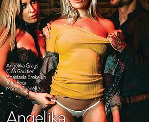Angelika, An Indecent Story / Angelika l'indécente (Alis Locanta, Marc Dorcel) [2020 g., Feature, Anal, France, French, Rimming, Threesome, Group, Stockings, High Heels, WEB-DL, 720p] (Clea Gaultier, Julia Roca, Angelika Grays, Anastasia Brokelyn, Marica Chanel)