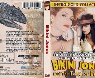 Bikini Jones and the Temple of Eros / Bikini Dzhons i hram Jerosa (Fred Olen Ray (as Nicholas Medina), Retromedia Entertainment) [2010 g., Comedy, HDRip, 1080p] (Christine Nguyen ... Bikini Jones Heather Vandeven ... Evilla Cruella Rebecca Love ... Carol Frankie Cullen ... Drago Billy Chappell ... Mark X (as Tony Marino) Brynn Tyler ... Security guard Ted Newsom ... Mr. Martin Jayden Cole ... Party Girl)