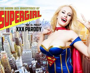 [VRCosplayX.com] Angel Wicky (Supergirl A XXX Parody / 11.03.2017) [2017 g., Big Tits, Blonde, Blowjob, Tits Fucking, Cosplay, Cowgirl, Reverse Cowgirl, High Heels, Hardcore, Nylons, Stockings, Porn Parody, Pornstars, POV, Trimmed Pussy, Pierced Navel, Pierced Nipple, Czech, VR, 4K, 1920p] [Oculus Rift / Vive]