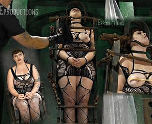 [SensualPain.com] Prunkle - A Little in the Gibbet (19.08.2020 g.) [2020 g., BDSM, Bondage, Caning, Flogging, Stockings, SiteRip, 1080p]