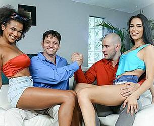 [DaughterSwap.com / TeamSkeet.com] Alina Ali & MJ Fresh - The Potion [2020.08.10, All Sex, Foursome, FFMm, Ebony, Big Ass, Big Tits, Blow Job, Brunette, Cowgirl, Cum In Mouth, Doggystyle, Facial, Fake Tits, Indoor, Step Dad, 720p]