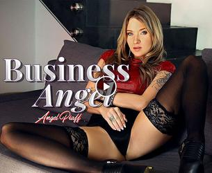 [BaDoinkVR.com] Angel Piaff (Business Angel / 16.03.2017) [2017 g., Teen, Brunette, Blowjob, Cowgirl, Reverse Cowgirl, Facials, Doggystyle, High Heels, Hardcore, Office, Nylons, Stockings, POV, Shaved Pussy, Tattoo, Czech, 4K, 1920p] [Oculus Rift / Vive]