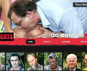 [OldPerverts.com / Maniacpass.com] Old Perverts / Starye Izwraschency (7 rolikow) [2012 g, All sex, Old Men, Teen, SiteRip] chast' 6