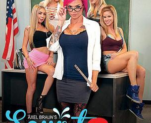 [Wicked.com] 2017-01-09 Anna Bell Peaks, Jessa Rhodes, Karla Kush, Kat Dior, Nina Elle - Axel Brauns Squirt Class 3 [Threesome, Oral, BGG, Squirting, Teachers, School, Natural Tits, Big Tits, Blonde, Red Hair] [2495x1663, 262 foto, 5 setow]