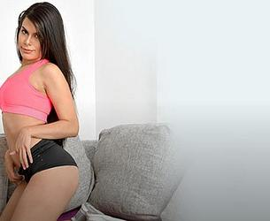 [OyeLoca.com / TeamSkeet.com] Kimberly Rey - Goal! (28.04.20) [2020 g., Blow Job, Brunette, Camel Toe, Casual Wear, Curvy, Doggystyle, Facial, Fingering (pussy), Gonzo, Indoor, Latina, Living Room, Mini Skirt, Missionary, Natural Tits, Pussy Licking, 480p]
