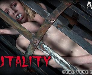 [RealTimeBondage.com] Alice (Brutality Part I / 11.04.2020) [2020 g., BDSM, Humiliation, Torture, Whipping, 720p]