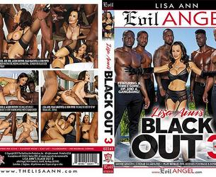 Lisa Ann (thelisaann.19.03.22.black.out.3.gangbang.4k) Scena 3 iz fil'ma Evil Angel Lisa Ann's Black Out 3 [2019-03-22, Gonzo Anal DP Gang Bang IR, 2160p]