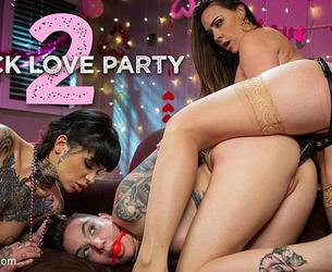 [Kink / WhippedAss] Fuck Love Party 2: Leigh Raven and Chanel Preston Devour Nikki Hearts (2020.02.13) [720p]