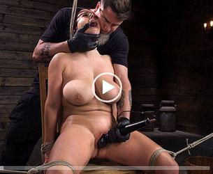 [Hogtied.com / Kink.com] Angela White (Angela White: Complete Submission to The Pope / 02.01.2020) [2019 g., BDSM, Big Tits, Bondage, Brunette, Corporal Punishment, Couple, Crop, Curvy, Domination, Feet, Fingering, Handler, Humiliation, Natural Boobs, Pain, Rope Bondage, Straight, Submission, Suspension, The Chair, The Pope, Vaginal Penetration, White, Zapper, 720p]