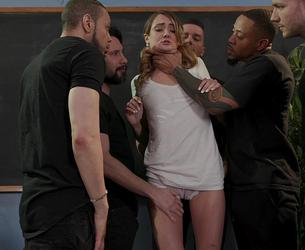 [BoundGangBangs] Zoe Sparx - Dirty Pig Whore [720p|MP4] (2020-02-05)