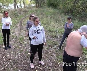 [Poo19.com / ScatShop.com] MilanaSmelly - 5 girls and a married man! / 5 dewchonok i zhenatyj chelowek! (Poo19.com / ScatShop.com) [2018 g., Scat, Piss, Spit, Big shit, Domination, Outdoor, Eat shit, Smearing, 720p, HDRip]