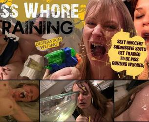 "PissWhoreTraining.com Siterip - Cute Girls Are ""Corrected"" Through Humiliation and Piss"