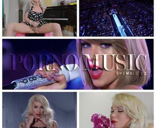 PORNO MUSIC SHEMALE PMV 22 [2018 g., compilation, music, shemale, anal, cum, hardcore, lingerie, pmv, 720p, WEB-DL]