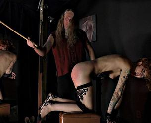 [SensualPain.com] Abigail Dupree - Simple Caning (20.05.2020 g.) [2020 g., BDSM, Caning, Pain, Stockings, SiteRip, 1080p]