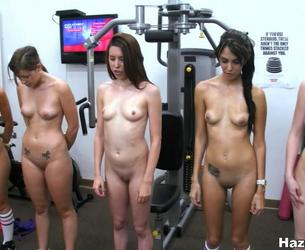 [BangBros.com / HazeHer.com] Workout those pussies! [2012 g., Reality, Lesbian, Group, Strapon, Nude Sport, 720p]