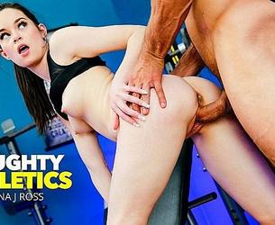 [NaughtyAthletics.com / NaughtyAmerica.com] Jenna J Ross Fucks Her Personal Trainer (28.05.20) [2020 g., Ass Licking, Ass Smacking, Big Dick, Black Hair, Blow Job, Brown Eyes, Brunette, Bubble Butt, Caucasian, Cum On Pussy, Hand Job, Innie Pussy, Long Hair, Masturbation, Medium Ass, Natural Tits, Orgasm, Shaved, Small Natural Tits, Small Tits, Straight, 2160p 4k]