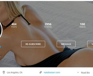 [OnlyFans.com] Natalia Starr / 107 Clips MegaPack / Complete SiteRip up to 05.04.2018 [2017-2018, HomeMade, Reality, Talks, BTS, Pornstars Life, All Sex, Blowjob, Lesbian, Solo, Posing]